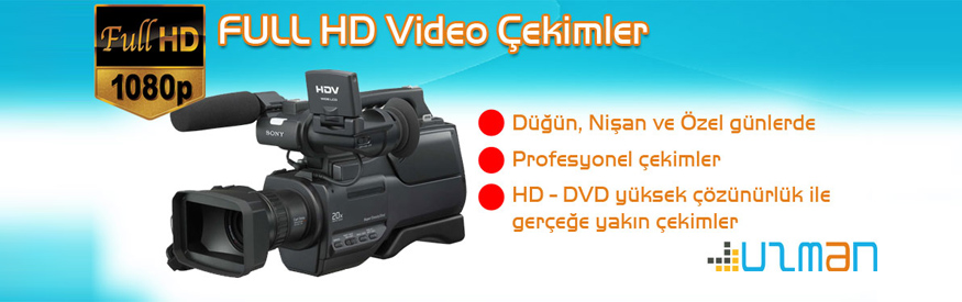 Full HD Video Çekimleri